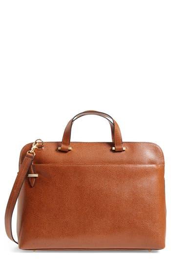 Lodis Medium Jamie Rfid Leather Briefcase - Brown