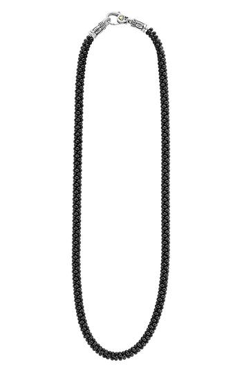 Women's Lagos 'Black Caviar' 5Mm Beaded Necklace