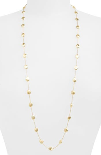 Women's Marco Bicego 'Siviglia' Long Disc Station Necklace