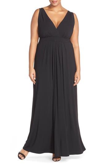 Plus Size Tart Chloe Empire Waist Maxi Dress, Black
