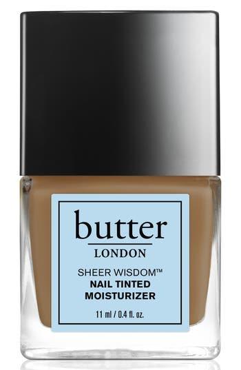 Butter London 'Sheer Wisdom(TM)' Nail Tinted Moisturizer - Tan