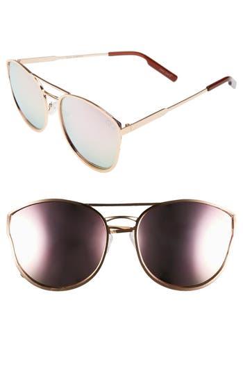 Quay Australia Cherry Bomb 60Mm Sunglasses - Rose Gold/ Pink