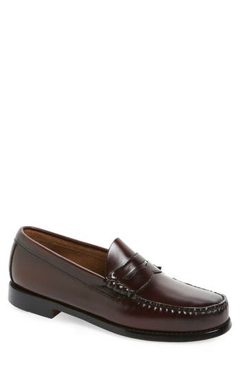 Men's G.h. Bass & Co. 'Larson - Weejuns' Penny Loafer, Size 8.5 M - Red