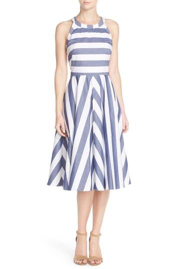 Women's Eliza J Cotton Fit & Flare Dress
