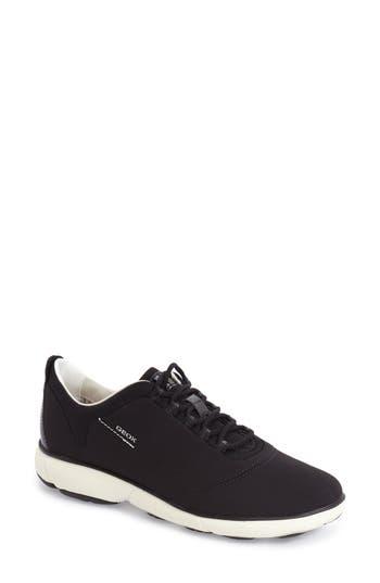Geox Nebula Slip-On Sneaker, Black
