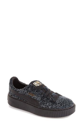 Puma Elemental Platform Sneaker- Black