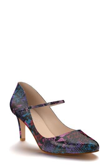Shoes Of Prey Mary Jane Pump - Purple