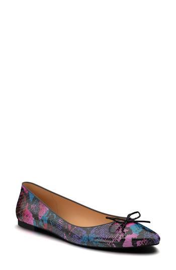 Shoes Of Prey Ballet Flat - Purple