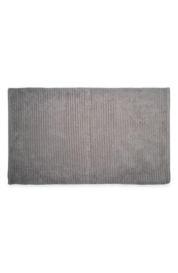Dkny Mercer Bath Rug, Size One Size - Grey