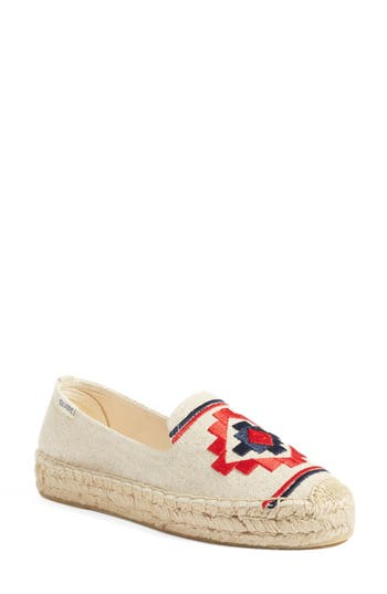 Soludos Embroidered Espadrille