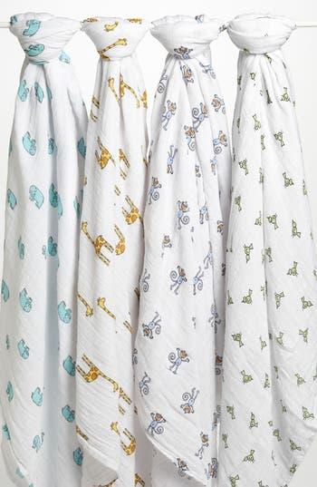 Aden  Anais Set Of 4 Classic Swaddling Cloths