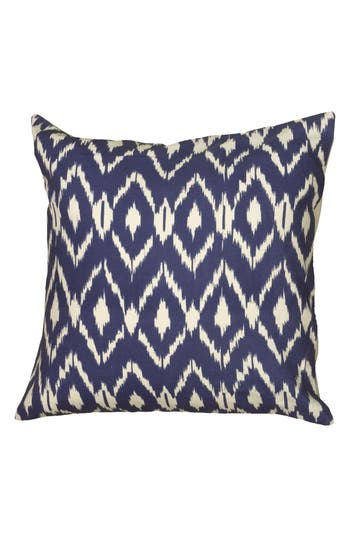 Rizzy Home Ikat Pillow, Size One Size - Blue