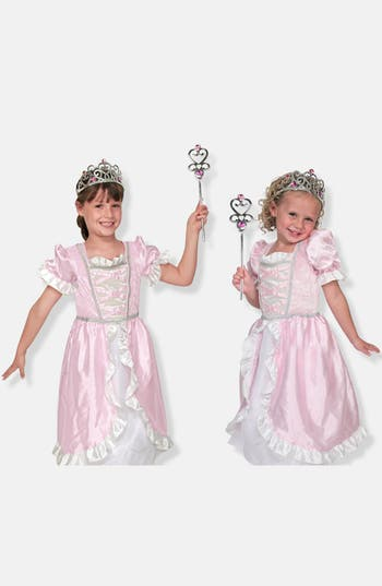 Girls Melissa  Doug Personalized Princess Costume
