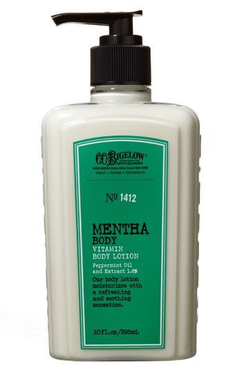 C.o. Bigelow Mentha Vitamin Body Lotion, Size 8 oz