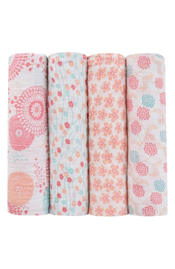 Aden  Anais X Tea Collection 4Pack Swaddling Cloths