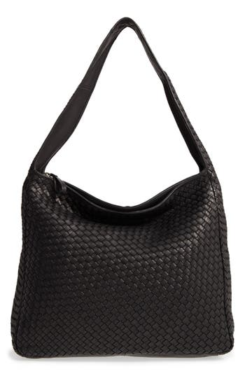 Robert Zur Large Jo Leather Hobo - Black at NORDSTROM.com