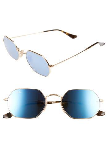 Ray-Ban Icons 5m Sunglasses - Gold/ Grey