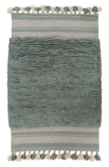 Surya Home Korva Modern Handwoven Rug, Size Swatch - Blue/green
