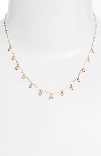 Nadri Shaker Crystal Necklace