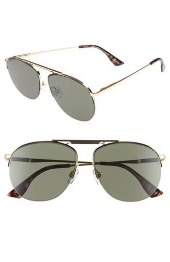 Le Specs Liberation 57Mm Aviator Sunglasses -