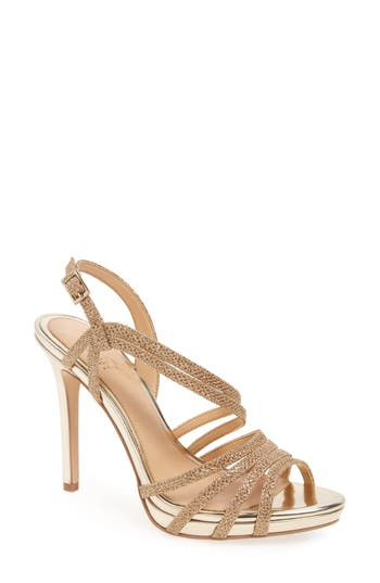 Jewel Badgley Mischka Humble Strappy Sandal