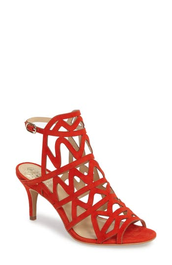 Women's Vince Camuto Prisintha Sandal, Size 5 M - Orange