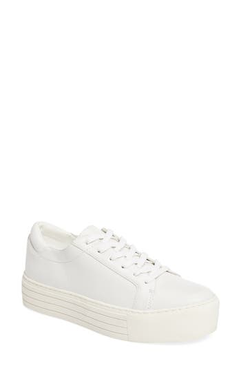 Kenneth Cole New York Abbey Platform Sneaker, White
