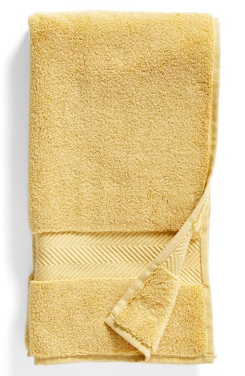 Nordstrom At Home Hydrocotton Hand Towel, Size One Size - Yellow