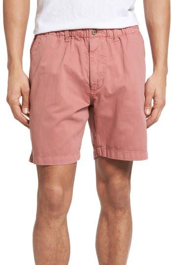 Vintage 1946 Washed Shorts, Red