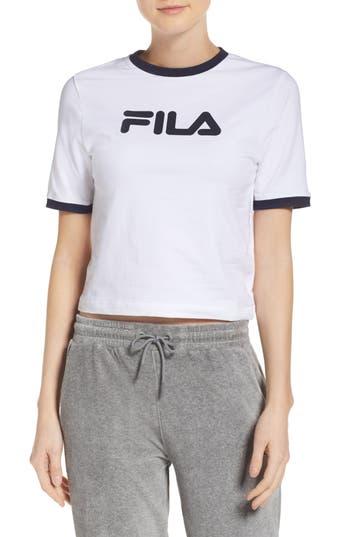 Women's Fila Tionne Logo Crop Tee