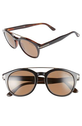 Men's Tom Ford Newman 53Mm Polarized Sunglasses -