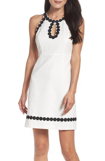 Taylor Dresses Jacquard Shift Dress