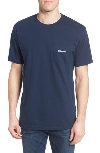 Patagonia P-6 Logo Graphic T-Shirt, Blue