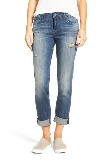 Kut From The Kloth Catherine Roll Cuff Boyfriend Jeans