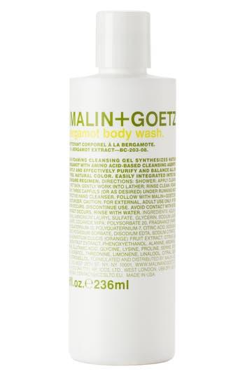 MalinGoetz Bergamot Body Wash