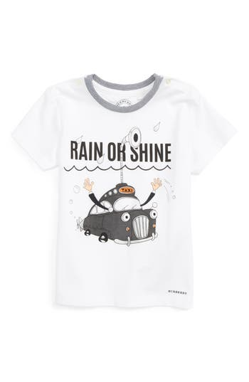 Toddler Boy's Burberry Rain Or Shine Graphic Shirt