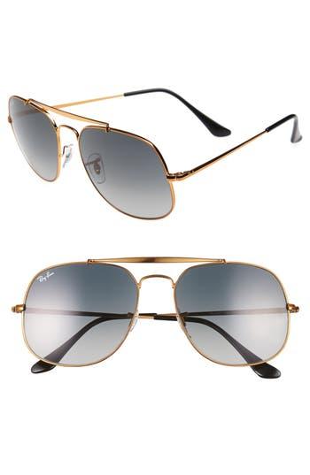 Ray-Ban 57Mm Aviator Sunglasses -