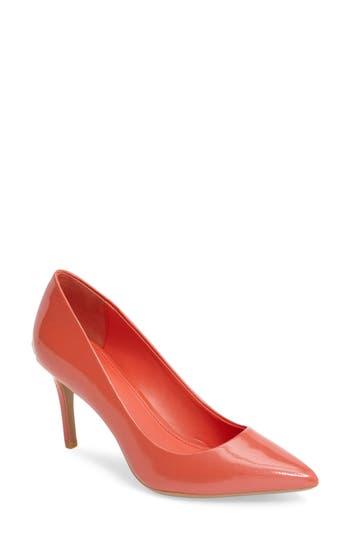 Women's Calvin Klein 'Gayle' Pointy Toe Pump, Size 8 M - Pink