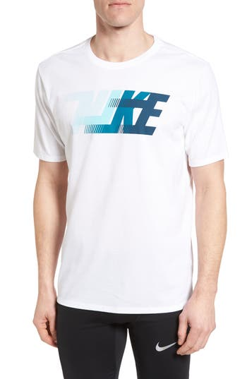 Nike Dri-Fit Training T-Shirt, White