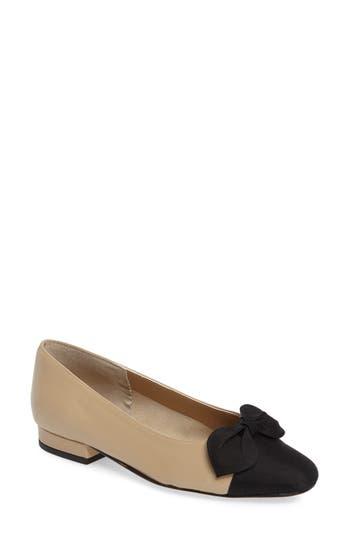 Women's Vaneli Favor Bow Flat, Size 6.5 N - Beige