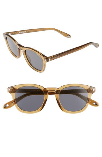 Women's Givenchy 48Mm Polarized Sunglasses - Beige