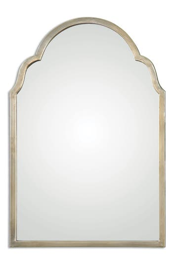 Uttermost Brayden Small Arch Mirror, Size One Size - Metallic