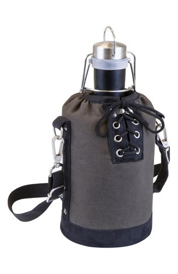 Picnic Time Growler & Tote, Size One Size - Grey