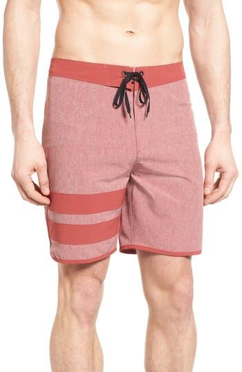 Big & Tall Hurley Phantom Block Party 2.0 Board Shorts, Red