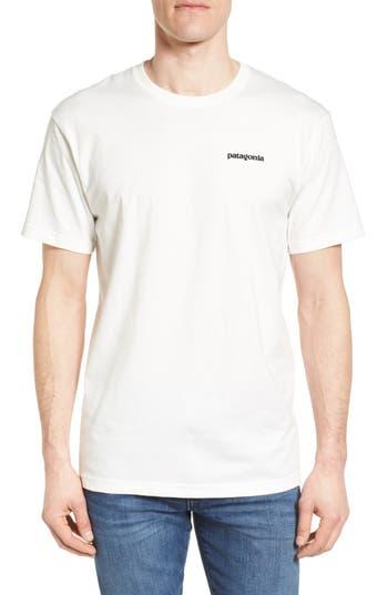 Patagonia Fitz Roy Tarpon Regular Fit T-Shirt, White