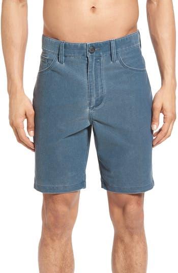 Big & Tall Billabong Outsider X Surf Hybrid Corduroy Shorts, Blue
