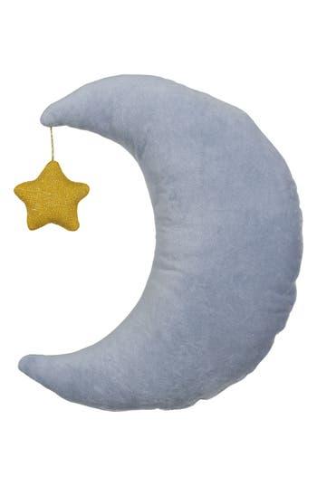 Meri Meri Organic Cotton Pillow, Size One Size - Blue