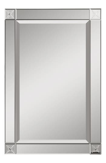 Uttermost Emberlynn Frameless Wall Mirror, Size One Size - Metallic