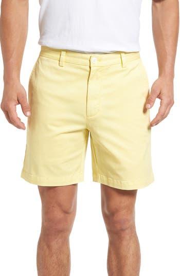 Vineyard Vines 7 Inch Breaker Stretch Shorts, Yellow