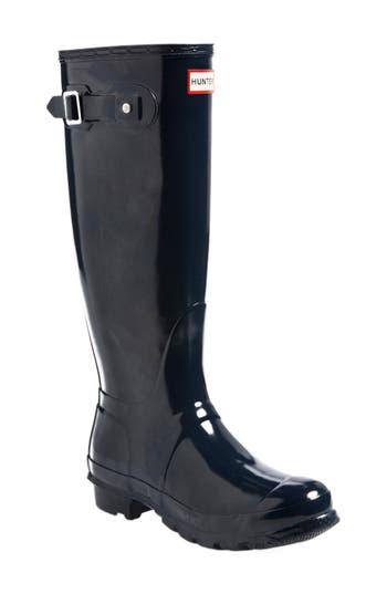 Hunter Original High Gloss Boot, Blue